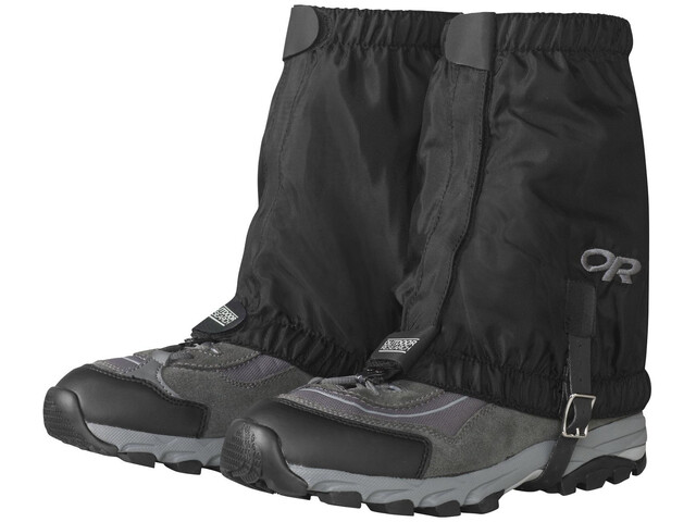 Outdoor Research Rocky Mountain Krótkie stuptuty, black